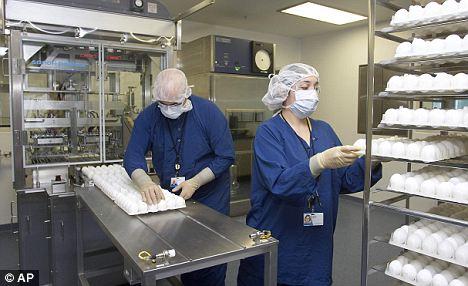 Vacunas con Huevos Fertilizados
