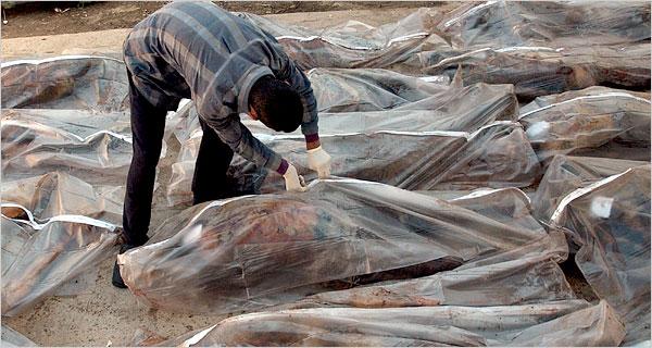 el gobierno de mexico compra bolsas para muertos