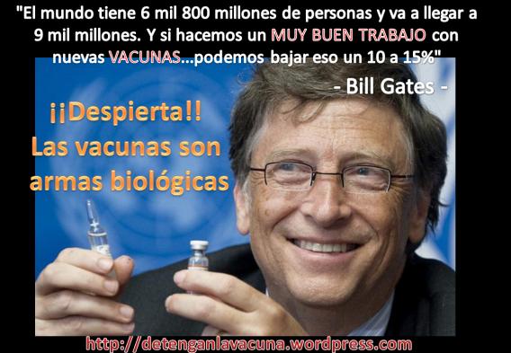 Resultado de imagen para magenes bill gates y la vacunacion
