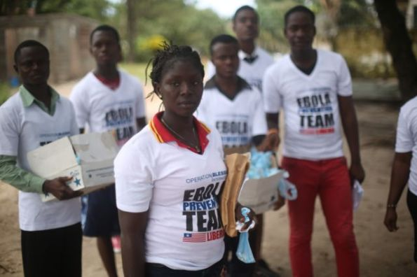 Ebola-prevention-volunteers-with-OBI-Monrovia