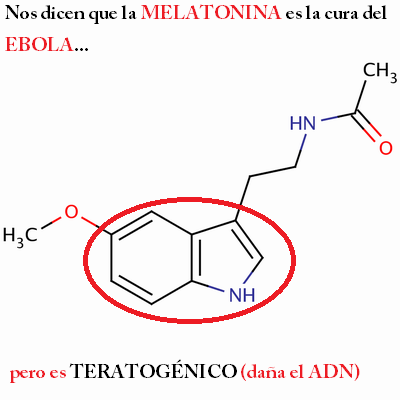 melatonina teratogenico